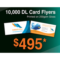 10,000 x DL Card Flyers